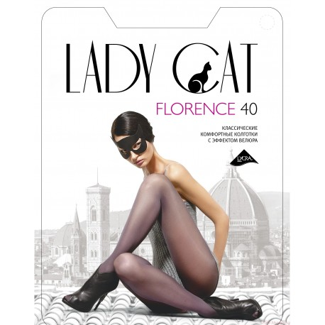 "Колготки ""Lady Cat"" Florence 40 XL, XXL"