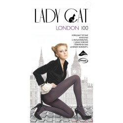 "Колготки ""Lady Cat"" London 100 XL, XXL"