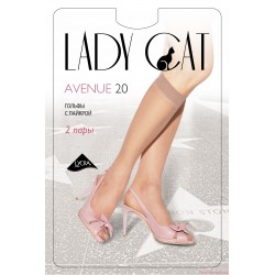 "Гольфы ""Lady Cat"" Avenue 20 ( 2 пары)."