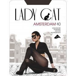 "Колготки ""Lady Cat"" Amsterdam 40 XL,XXL"