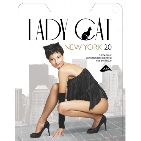"Колготки ""Lady Cat"" New York 20 XL,XXL"