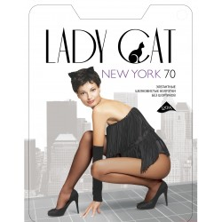 "Колготки ""Lady Cat"" New York 70 XL,XXL"