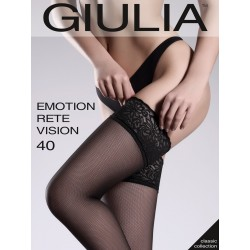 Чулки Giulia EMOTION RETE VISION