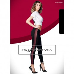 RP Брюки/леггинсы LR207F LEGGINGS BANDA LATERALE IN PELLE DONNA SINGOLO