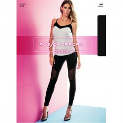 RP Брюки/леггинсы LR 187 LEGGINGS LUNGO CON TULLE DONNA SINGOLO